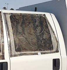 F350 cab with Yellowstone Bug Screen