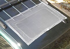 Gray Bug Screen as Sun Roof