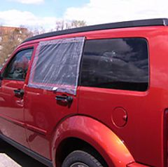 Klondike Bug Screen on Dodge Nitro